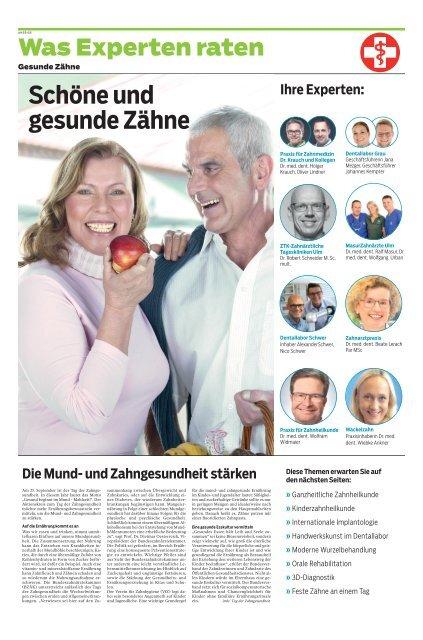 2020/39 - Was Experten raten_Zähne