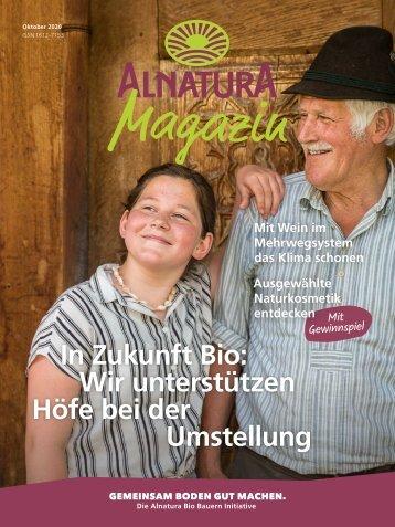 Alnatura Magazin Oktober 2020