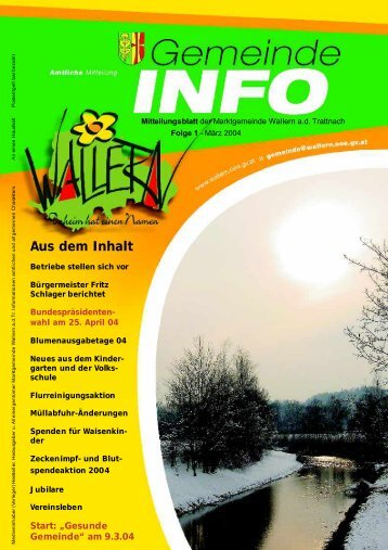 Folge 01-2004 - Wallern