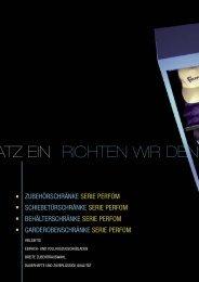 Katalog Fami Flügeltürschränke Serie Perform