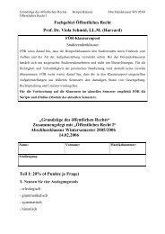 Fachgebiet Öffentliches Recht - TU Darmstadt