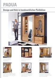 Padua design und Holz in handwerklicher Perfektion - Leinkenjost