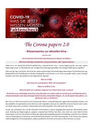 The Corona papers 2.0