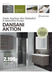 Starke Angebote über Badmöbel in dänischem Design