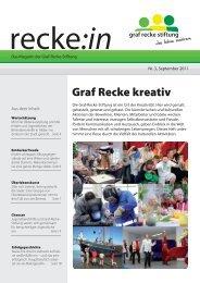 recke:in - Das Magazin der Graf Recke Stiftung Ausgabe 3/2011