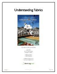 Understanding Fabrics Understanding Fabrics - Learning Seed