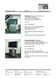 Plasmaständer mit Schrank - BTM Multimedia GmbH