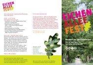 EICHEN ALLEE FEST - Umweltfest Seefeld
