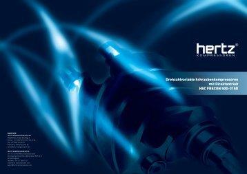 Drehzahlvariable Schraubenkompressoren mit Direktantrieb HSC ...