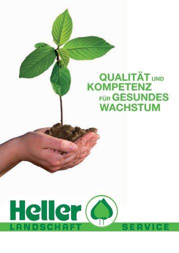 Drei Jahrzehnte - Heller Landschaft Service GmbH & Co. KG