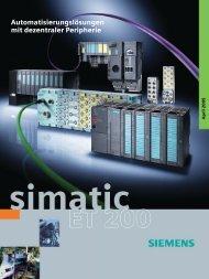 Automatisierungslösungen mit dezentraler Peripherie - Industrial ...
