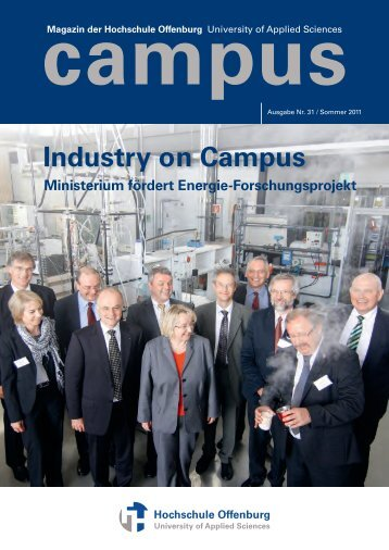 Industry on Campus - an der Hochschule Offenburg