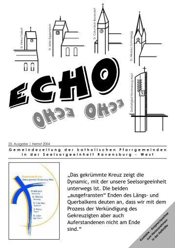 ECHO 23 (Herbst 2004) - Katholische Gesamtkirchengemeinde ...