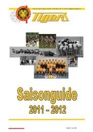SML-Mannschaft - Unihockey Tigers