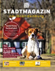 Stadtmagazin Neubrandenburg Oktober 2020