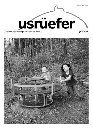 2. Ausgabe Juni [PDF, 4.39 MB] - Staufen