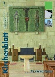 Der schwarze Christus - Kirchenblatt