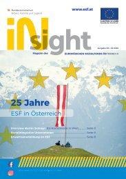 ESF insight Ausgabe 8 September 2020
