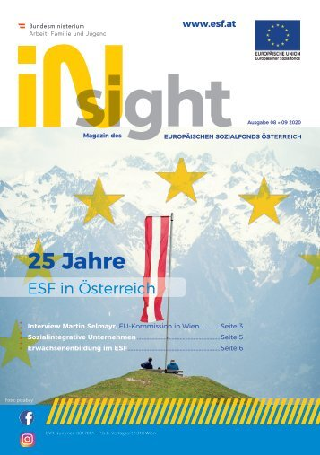 ESF insight Ausgabe 8 September 2020