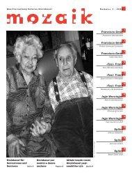 d - Quartierzeitung mozaik