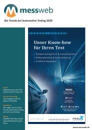 messweb E-Paper Automotive Testing 2020