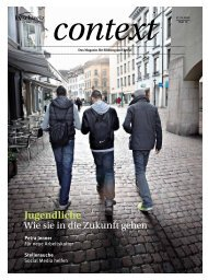 Context Heft 12 (PDF, 5534 kb) - KV Schweiz