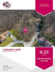 2 Walnut Lane, Morgantown, WV - Marketing Flyer