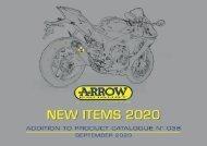 Arrow - New items September 2020