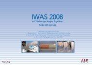 IWAS 2008 - Intl. Werbeträger Analyse Skigebiete - Seilbahn.net