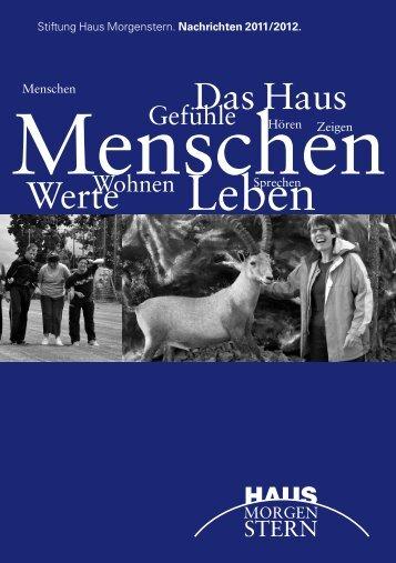 Jahresbericht 2011/2012 - Haus Morgenstern