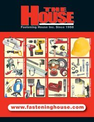 Fastening House - COMPLETE PRODUCT CATALOGUE (PDF)