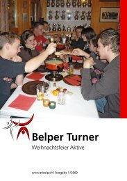 Belper Turner - TV Belp