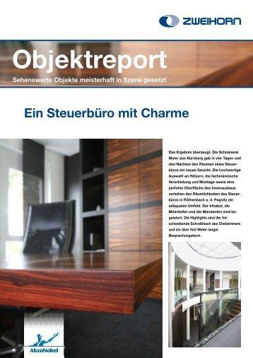 Objektreport - Zweihorn