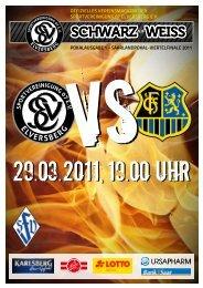 scHwarz weiss - Sportvereinigung 07 Elversberg