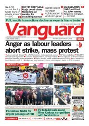29092020 - Anger as labour leaders abort strike, mass protest