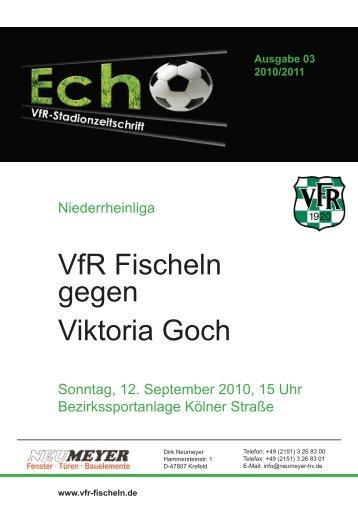 Ausgabe 03 2010/2011 - VfR Krefeld-Fischeln 1920 e.V.