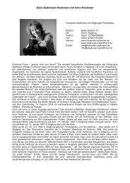 Delia Sedlmeier-Hoekman und Arno Hoekman - Profile ...