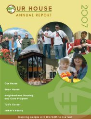 2007 Annual Report - Our House