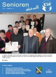 Ausgabe 1/2011 - KreisSeniorenRat Waldshut