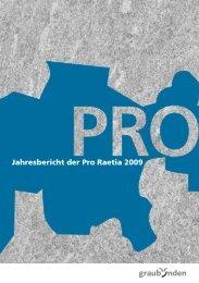 Zentralvorstand 2009 - Pro Raetia