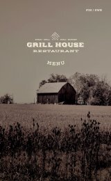Grill House menu Tust Autumn 20 Spring 21 FIN / SWE