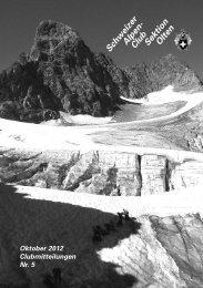 Schweizer Alpen- Club SektionOlten - SAC Olten