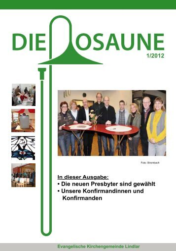 andinnen und Konfirmanden - Evangelische Kirchengemeinde Lindlar