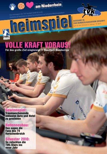 Tel. 0 21 61 - 64 10 88 Optik - TV Korschenbroich Handball