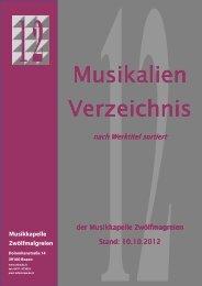 Abkürzungsverzeichnis - Musikkapelle Zwölfmalgreien