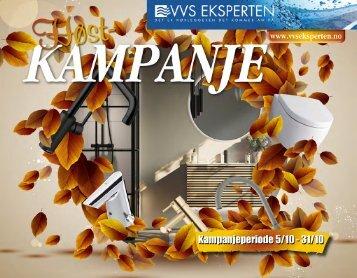 Høstkampanje VVS Eksperten