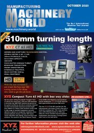 Manufacturing Machinery World - October 2020