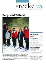 recke:in - Das Magazin der Graf Recke Stiftung Ausgabe 1/2008
