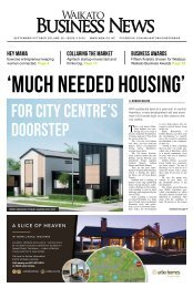 Waikato Business News September/October 2020
