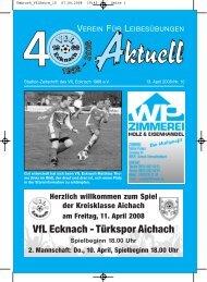 Umbruch_VfLExtra_10 - VfL Ecknach